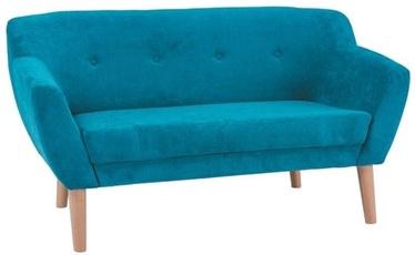Диван Signal Meble Bergen 2 Velvet Turquoise, 139 x 54 x 76 см