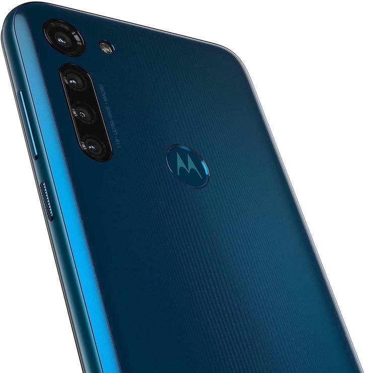 Mobilusis telefonas Motorola Moto G8 Power Capri Blue, 64 GB