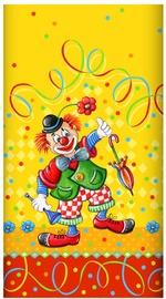 Papstar Tablecloth 120x180cm Clown