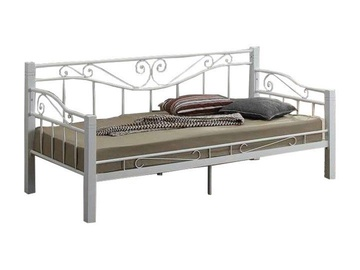 Signal Meble Bed Kenya 90x200cm White