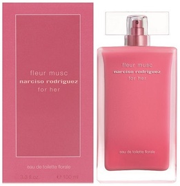 Tualettvesi Narciso Rodriguez Fleur Musc For Her 100ml EDT