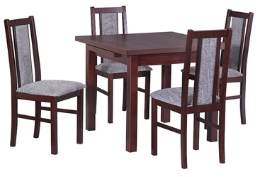 Drewmix Max VII Laminate Extendable Table 80/125cm Walnut