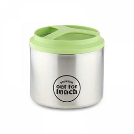 Grunwerg Pioneer Vacuum Insulated Lunch Box 1l Green