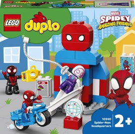 Konstruktors LEGO Duplo Spider-Man Headquarters 10940, 36 gab.