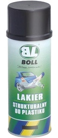 BOLL Structure Lacquer for Plastic Spray Black 400ml