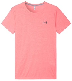 Under Armour T-Shirt Threadborne Twist 1305409-820 Pink XS