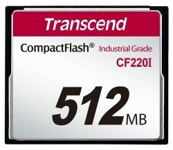 Transcend 512MB Industrial Temp CF220I CF Card