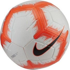 Nike Strike Soccer Ball White/Orange Size 5