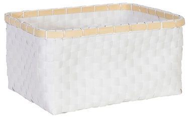 Home4you Basket Lido 3 28x19xH13cm White