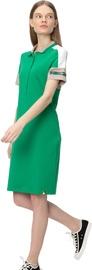 Audimas Womens Soft Surface Modal Polo Dress Jolly Green L
