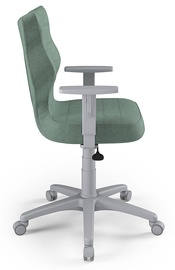 Офисный стул Entelo Duo AL05, зеленый/серый