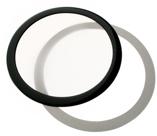 DEMCiflex Dust Filter 140mm Round Black/White DF0495