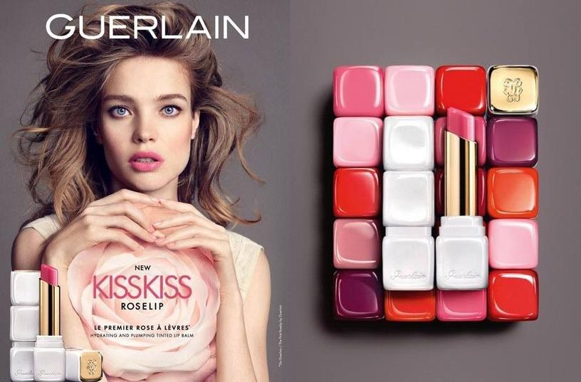 Lūpų balzamas Guerlain KissKiss Roselip Wonder Violette, 2.8 g