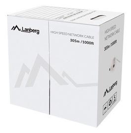 Сетевой кабель Lanberg LCU5-12CU-0305-G, зеленый, 305 м