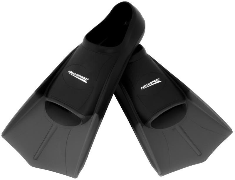 Pleznas Aqua Speed Training Fins Gray Black 43/44