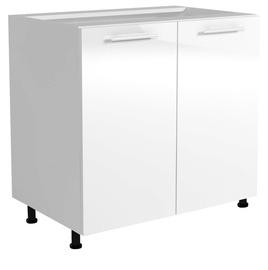 Virtuvinė spintelė Vento D-80/82, balta