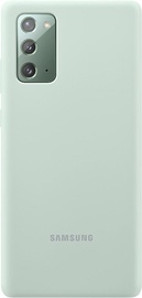 Samsung Silicone Back Case For Samsung Galaxy Note 20 Green