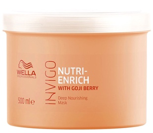 Kaukė plaukams Wella Invigo Nutri Enrich Deep Nourishing, 500 ml