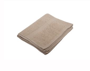 Vonios rankšluostis Domoletti, rudas, 30 x 30 cm