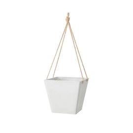 Green Ship Flower Pot D-11UF20 White