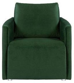 Fotelis Black Red White Clarc Es Green, 79x88x84 cm