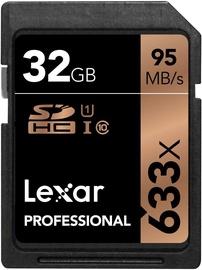 Lexar 32GB Professional SDHC 633X UHS-1 Class 10 U1