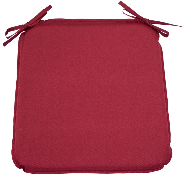 Home4you Chair Cover Ohio 39x39x2.5cm Dark Red