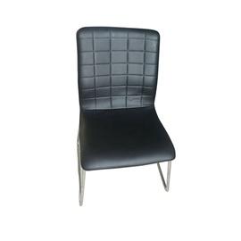 Valgomojo kėdė Norvegija, juoda