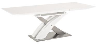 Pusdienu galds Signal Meble Raul White, 1400x850x760 mm