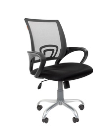 Chairman 696 Silver TW Office Chair Grey