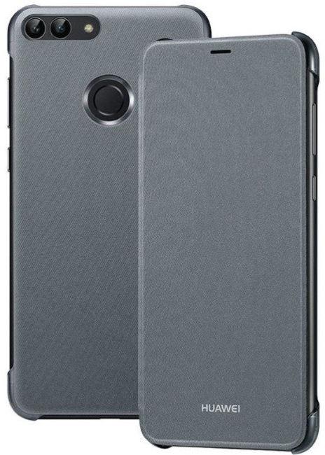 Huawei Original Book Flip Case For Huawei P Smart Grey