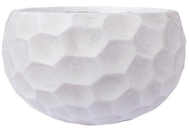 Home4you Flower Pot Cubo-2 D42xH22cm White