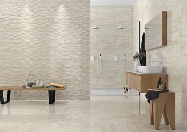 Stn Ceramica Savona Cream Br Wall Tiles 200x600mm Beige