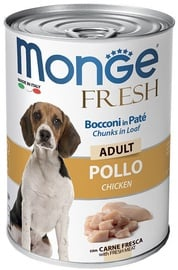 Monge Fresh Chunks Adult With Chicken 400g
