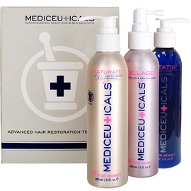 Mediceuticals Dry Scalp And Hair Therapy Kit for Women 3x180ml