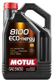 Mootoriõli Motul 8100 ECO-nergy 5W - 30, sünteetiline, sõiduautole, 4 l