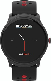 Canyon Oregano Smartwatch CNS-SW81BR Black/Red