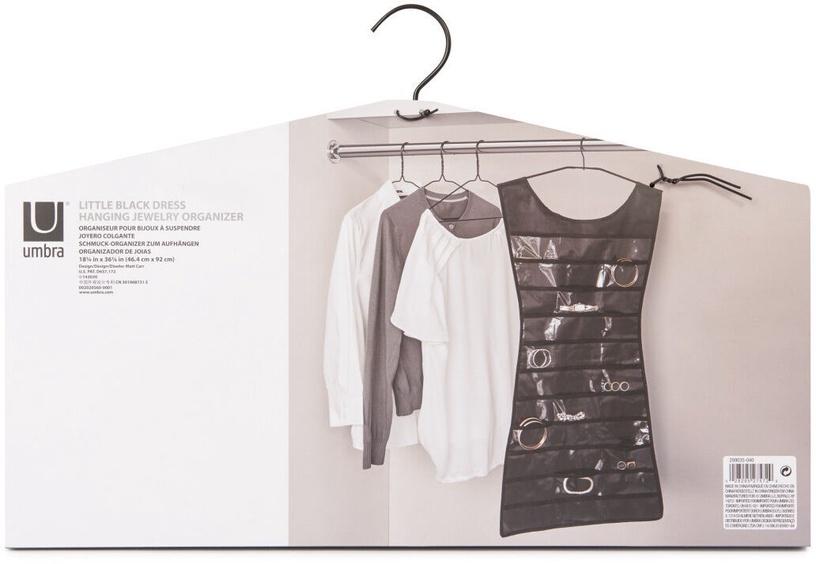 Вешалка Umbra Dress Closet Organizer Black