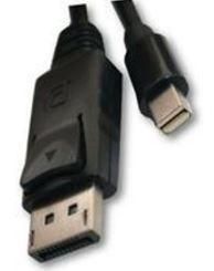 Unitek Cable Mini Displayport / Displayport Black 2m