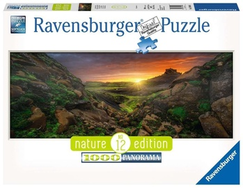 Ravensburger Panoramic Puzzle Sun Over Iceland 1000pcs 15094