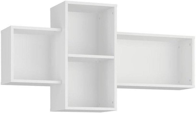 Plaukts Tuckano Bella 09 White, 1210x650x290 mm