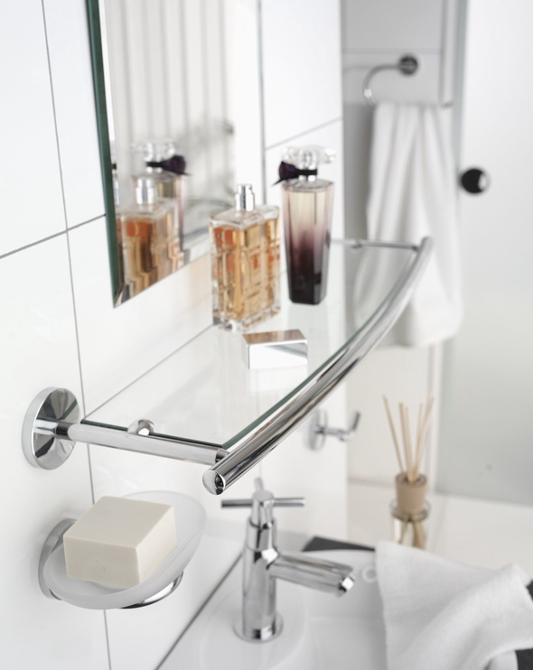 Axentia Bathroom Shelf Capri