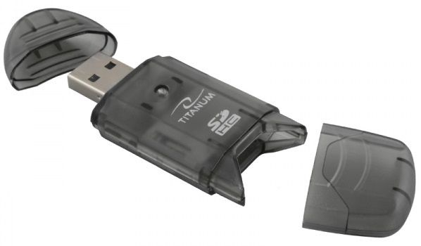 Esperanza Titanum Card Reader TA101 USB 2.0 Black