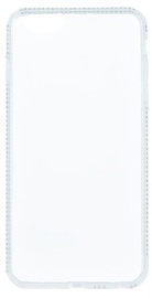 Beeyo Diamond Frame Back Case For Samsung Galaxy A5 A510 Transparent/White