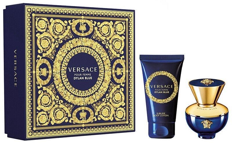 Набор для женщин Versace Dylan Blue Femme 2pcs Set 80 ml EDP