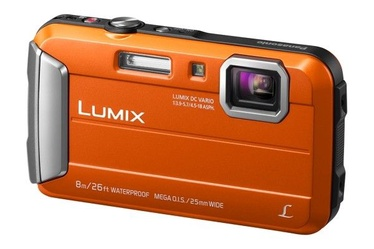 Panasonic LUMIX Digital Camera Orange