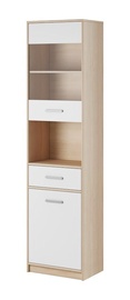 WIPMEB Tulia Display Unit Sonoma Oak/White