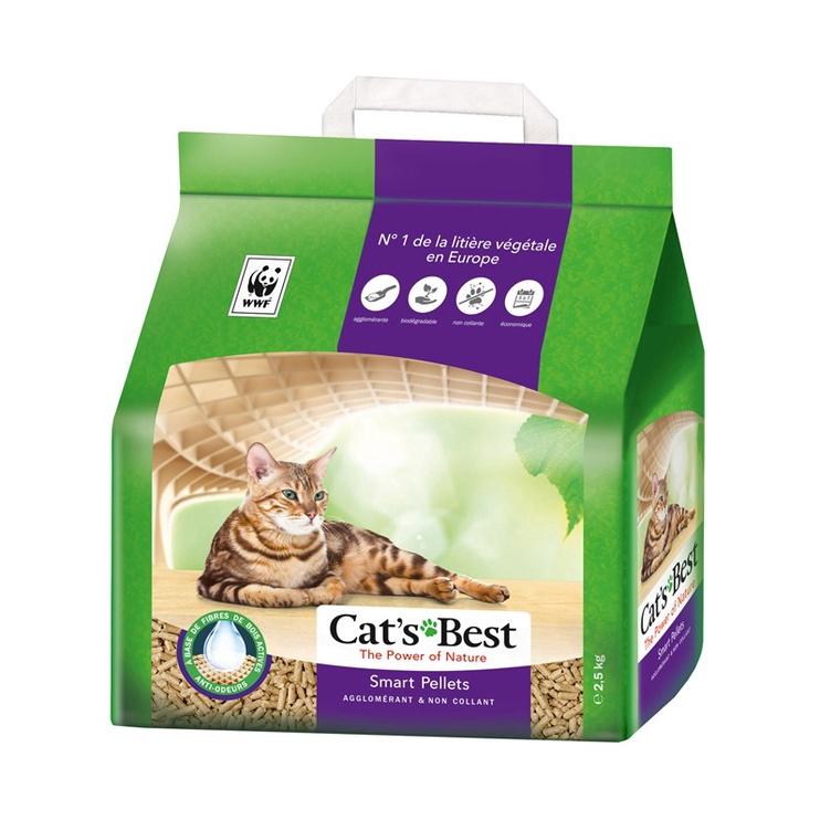 Kačių kraikas, organinis, Cat's Best Nature Gold, 10 l