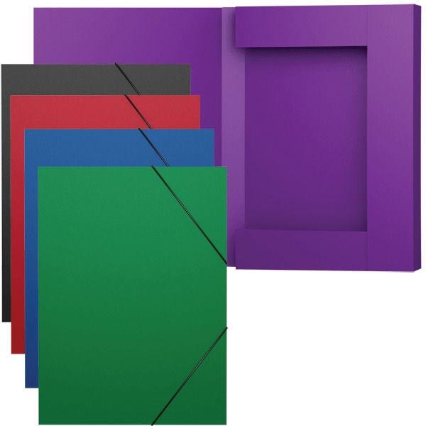 ErichKrause Classic Coolbox Folders With Elastic Band Black