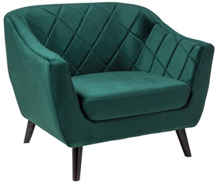 Fotelis Signal Meble Molly 1 Velvet Green, 83x78x105 cm